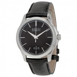 Gucci YA126430 G-Timeless Automatic Black Unisex Watch
