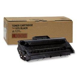 RICOH 412672 Black Toner Cartridge Type 1175 Toner (Yield: 4,500 Copies)