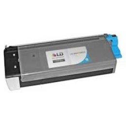 Okidata 44318603 Cyan Toner Cartridge for C711 Printer Series