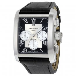 Raymond Weil 4878-STC-00268 Don Giovanni Cosi Grande Black Men's Watch