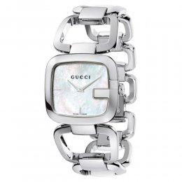 Gucci YA125404 G-Gucci Mother of Pearl Dial Women's Watch