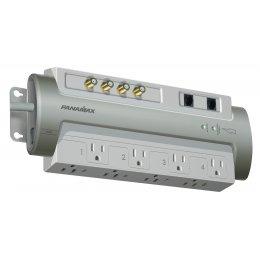 Panamax PM8-AV Powermax 8 Outlet TEL/COAX Surge