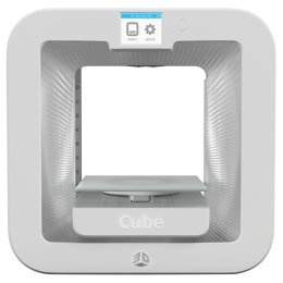 Cube 3D Printer Gen3 WHITE