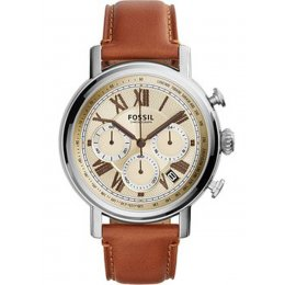 Fossil  FS5117 Buchanan  Leather Brown Chronograph Men's Watch