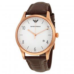 Emporio Armani Men's AR1915 Brown Leather Watch
