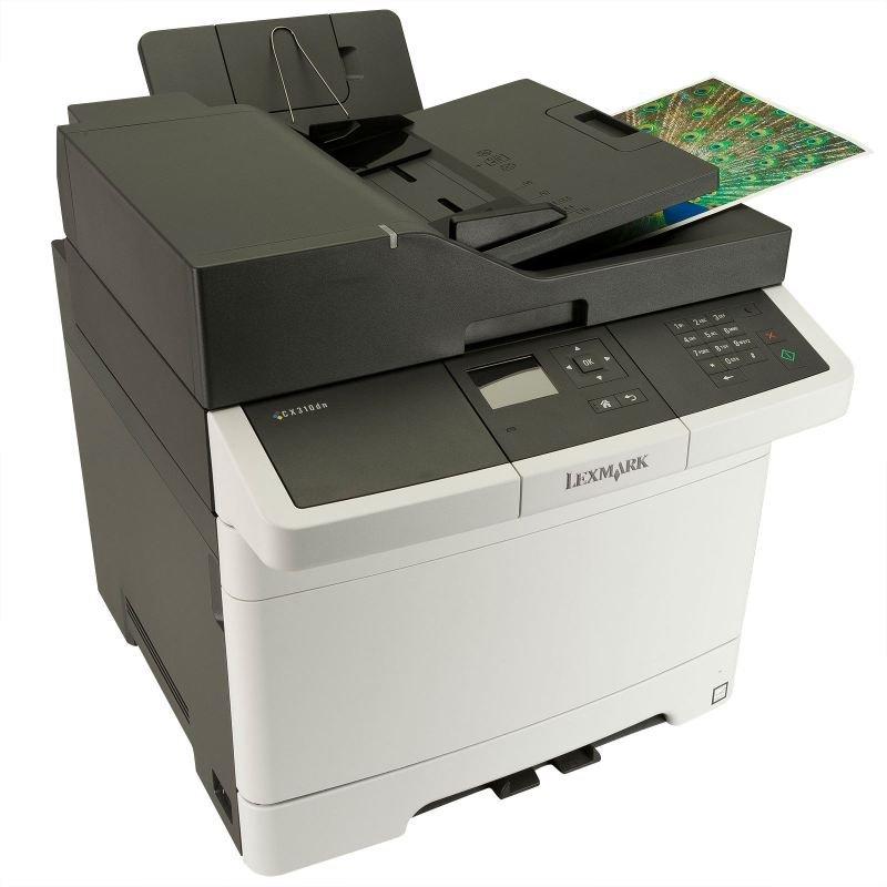lexmark cx310n multifunction color printer