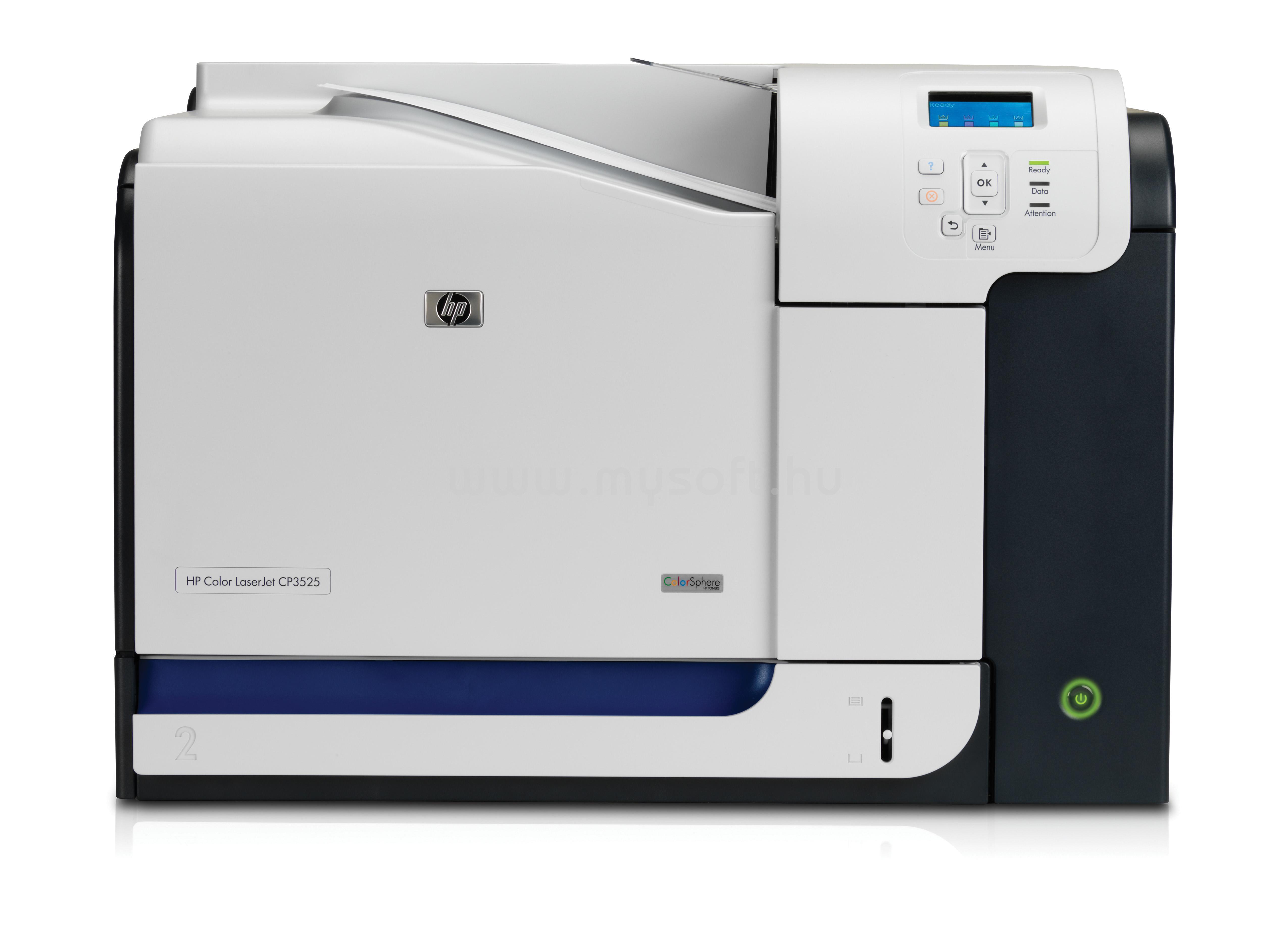 Color Laser Printer Reviews: HP CP3525Dn Color LaserJet Printer RECONDITIONED
