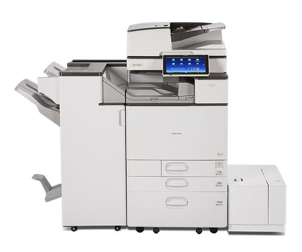 Ricoh MP C4504 Multifunction Color Laser Printer - Copyfaxes