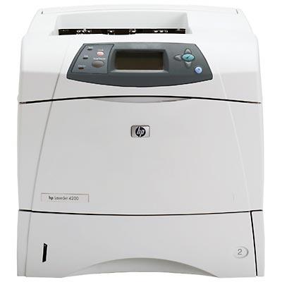 hp 4200n laserjet network ready laser printer reconditioned rh copyfaxes com hp 4200 service manual HP 4250N