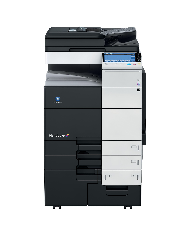 Konica Minolta Bizhub C754e Printer PS/PCL/XPS Mono Drivers Download