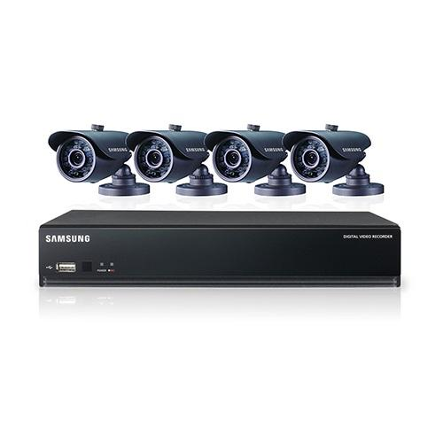 Samsung SDS-V3040 4 Channel DVR Security System - CopyFaxes