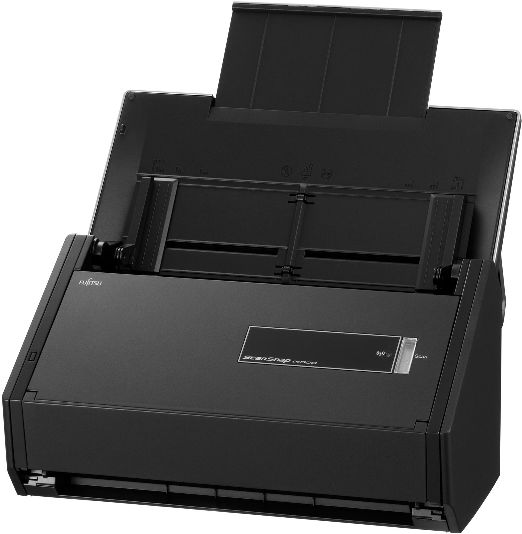 Fujitsu ScanSnap iX500 Deluxe Bundle - CopyFaxes
