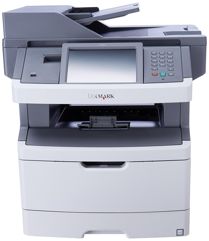 Lexmark X466DE Multifunction Laser Printer RECONDITIONED