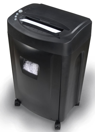 micro cut paper shredder This is the shredder that cuts paper into 1/4 x 1/4 unrecognizable confetti and  was found to be quieter than any other unit tested by the hammacher schlemmer .
