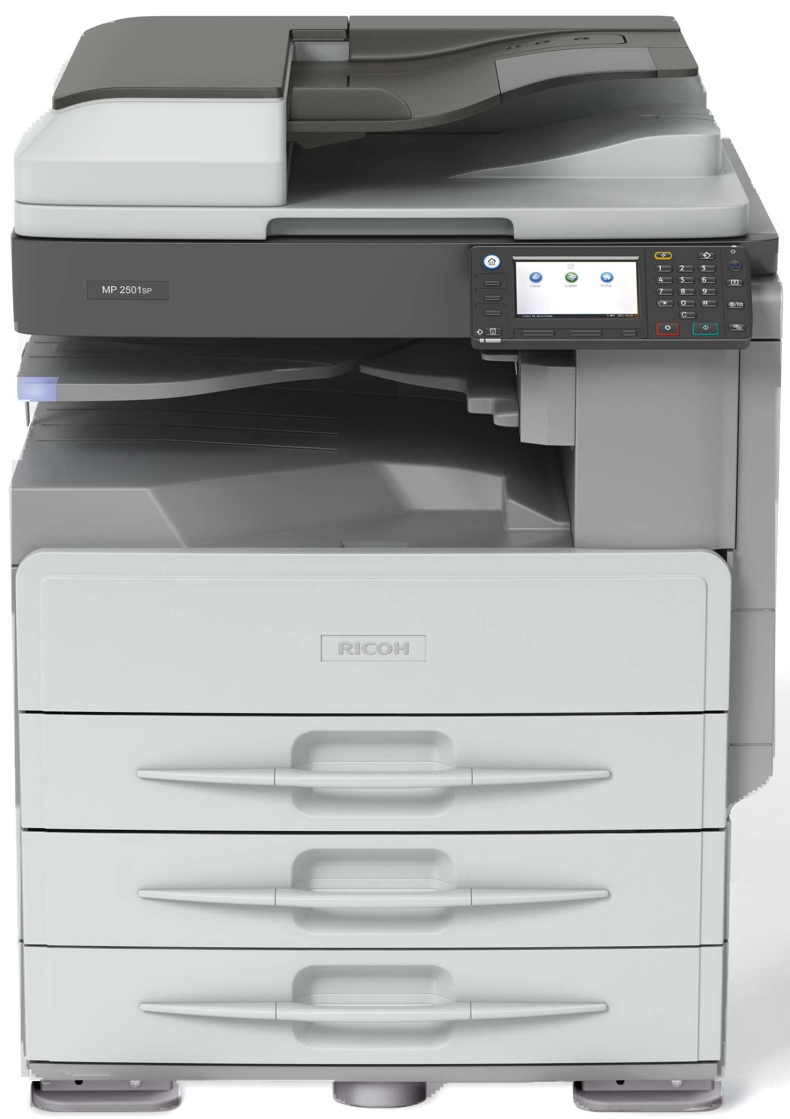 Drivers Update: Ricoh Aficio MP 201SPF Multifunction B & W PCL