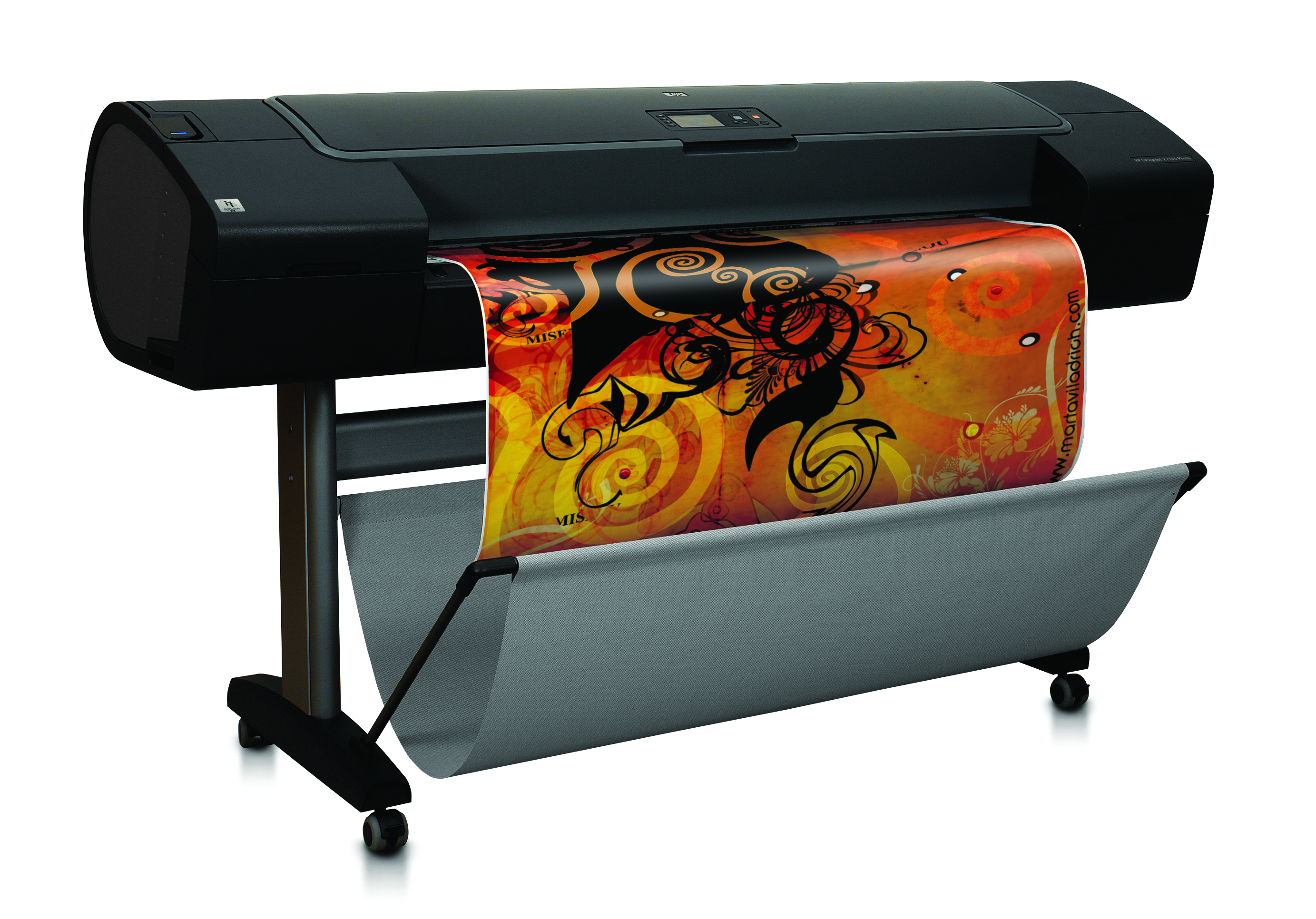 Hp Z2100 24inch Designjet Color Plotter Reconditioned