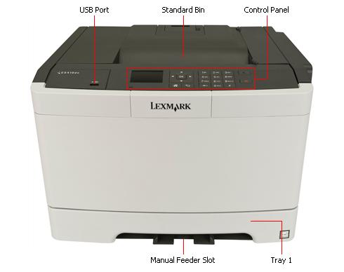 Driver for Lexmark CS410 Printer Universal PCL5e