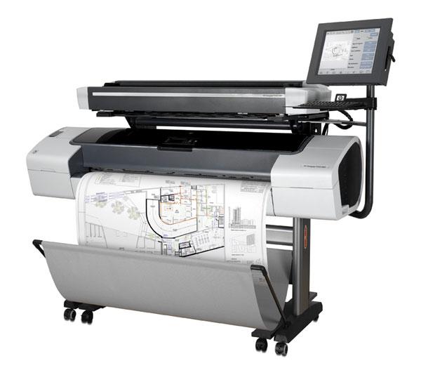 Hp T1100ps Designjet 44 Inch Plotter Copyfaxes