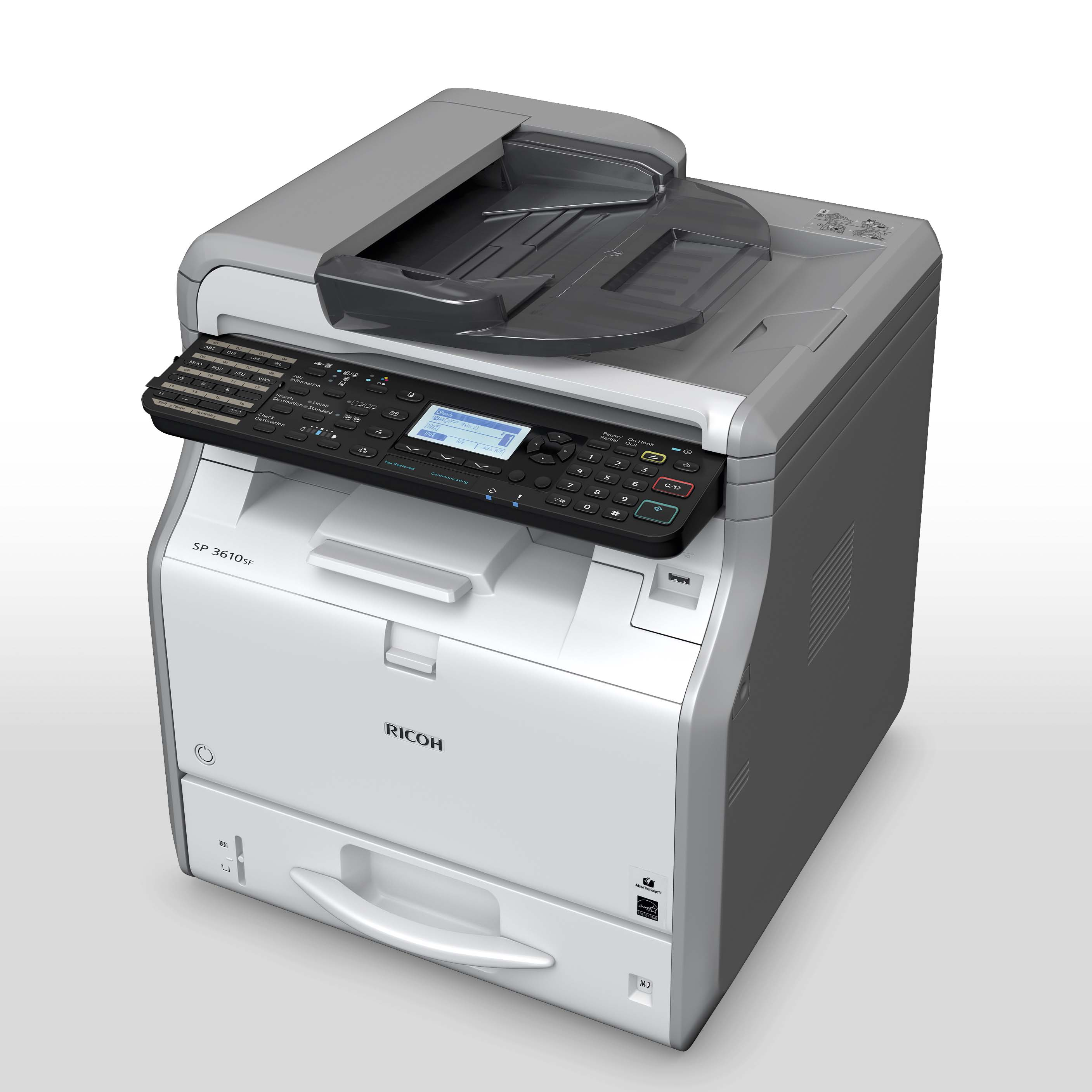 Ricoh Aficio MP 6000 S/P Multifunction B & W PS Drivers Download