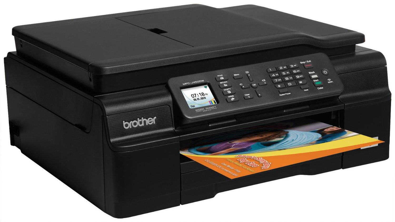 Brother Mfc J450dw Color Inkjet Multifunction Printer