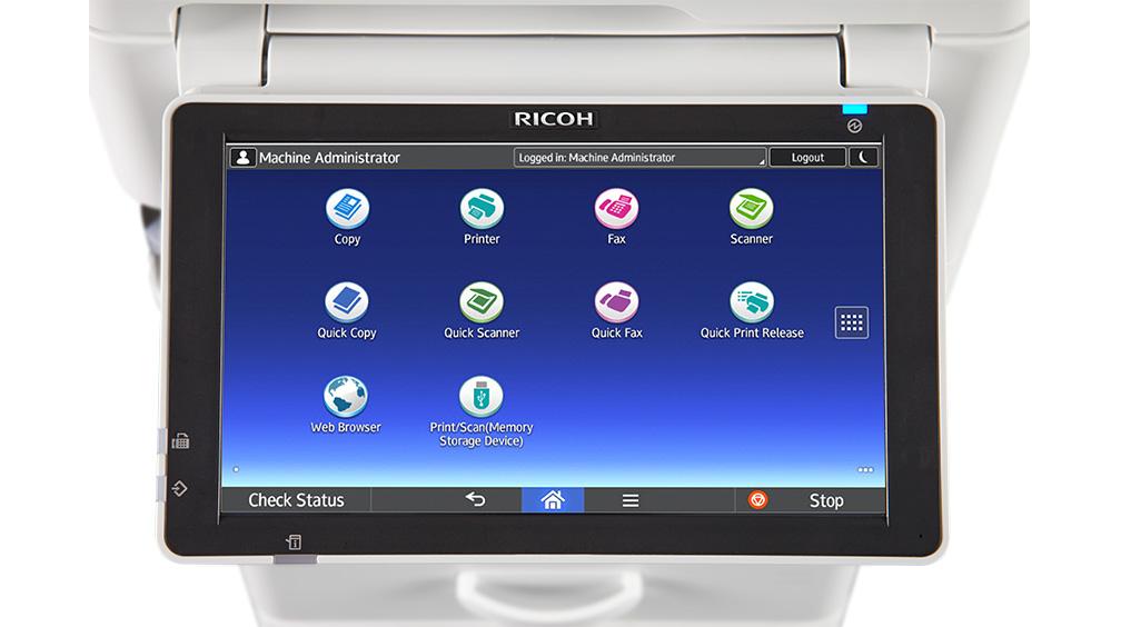 Ricoh Aficio Mp 305spf Multifunction Copier
