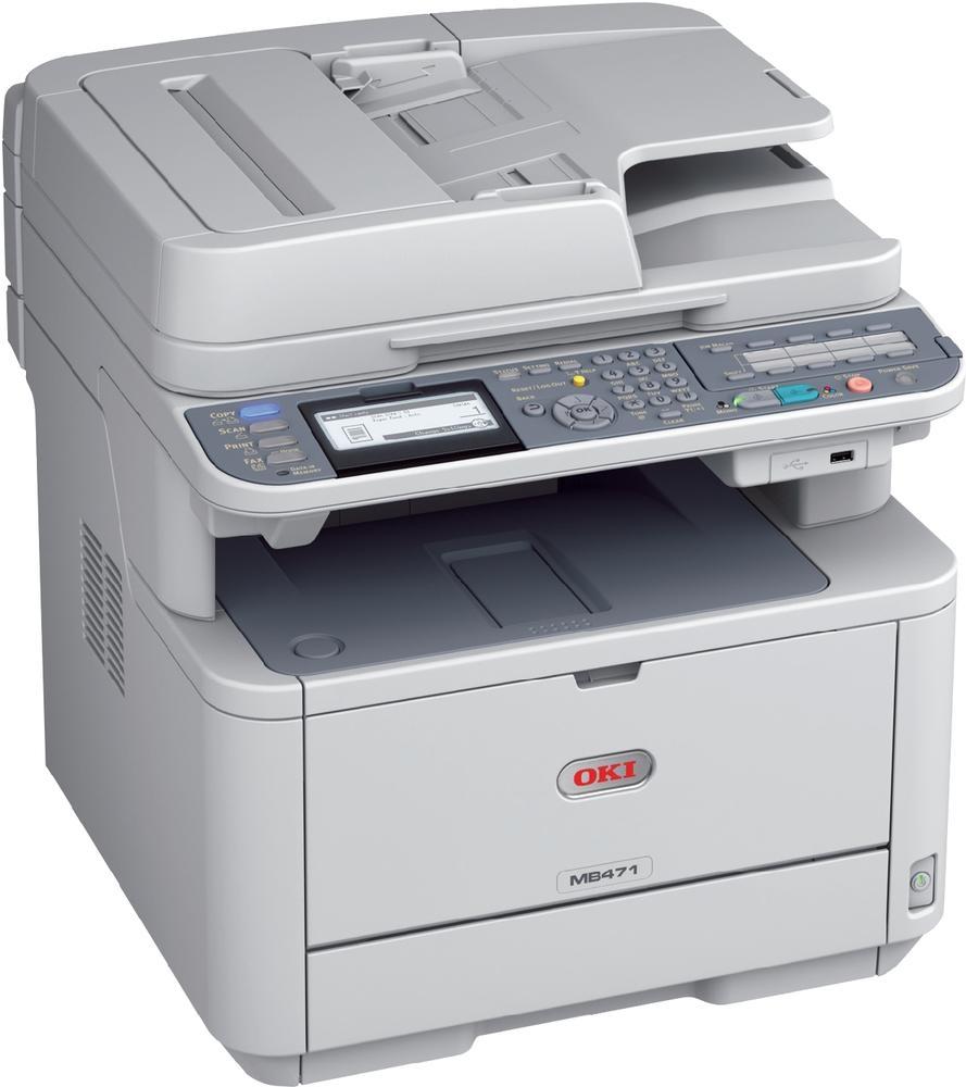 Okidata MB471W Multifunction Laser Printer - CopyFaxes