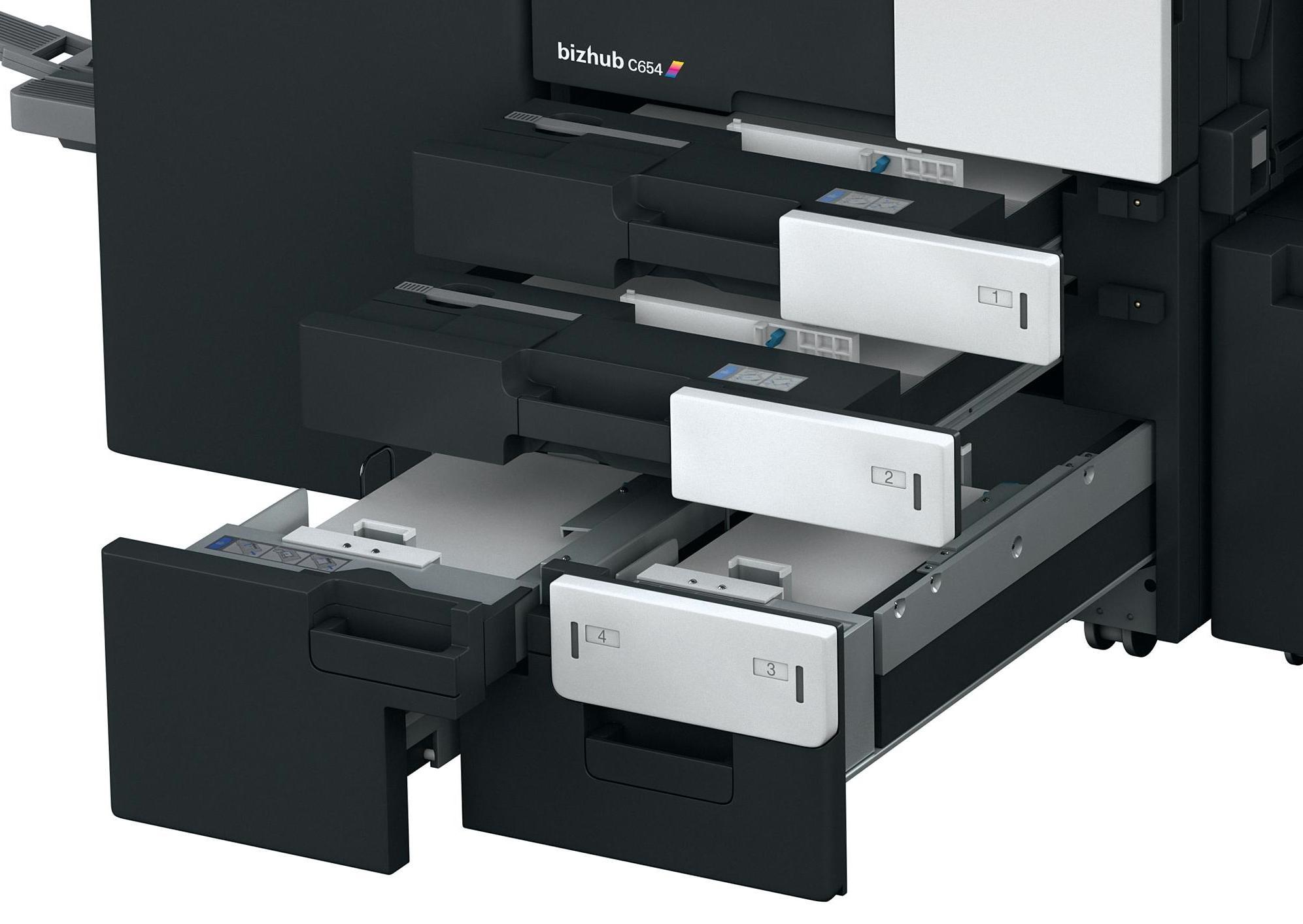 Konica Minolta Bizhub C654E Color Copier Printer Scanner