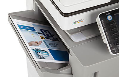 Ricoh Aficio MP C2503 Color Multifunction Copier - CopyFaxes