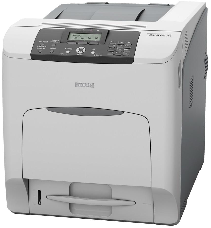 Ricoh Aficio SP C340DN Color Laser Printer - CopyFaxes