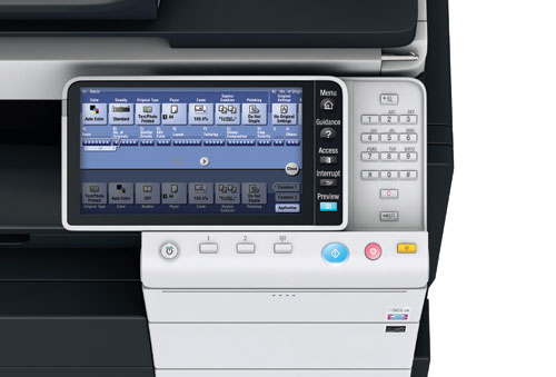 Konica Minolta Bizhub C454 Color Copier Printer Scanner