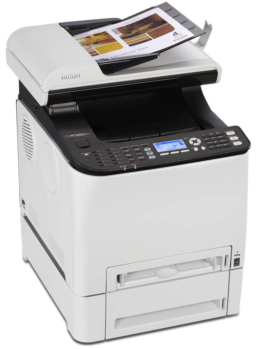 RICOH SP C252SF PRINTER LAN FAX DRIVER FOR WINDOWS MAC