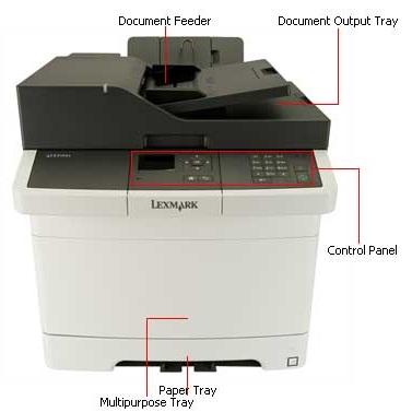 Lexmark Cx310dn Multifunction Color Printer Copyfaxes