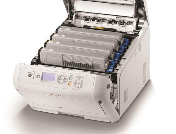 Okidata Pro8432wt Color Printer Copyfaxes