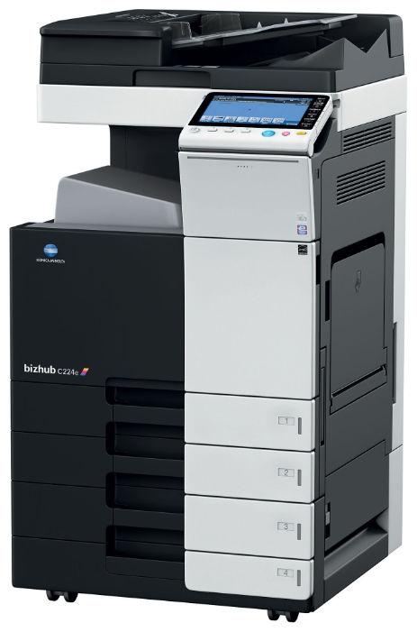 Konica Minolta Bizhub C224E Color Copier Printer Scanner
