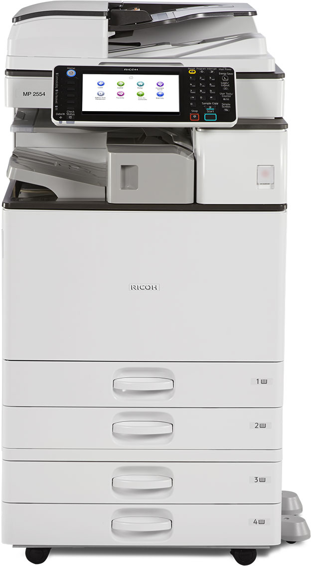Ricoh Aficio MP 3554 B&W Multifunction Copier