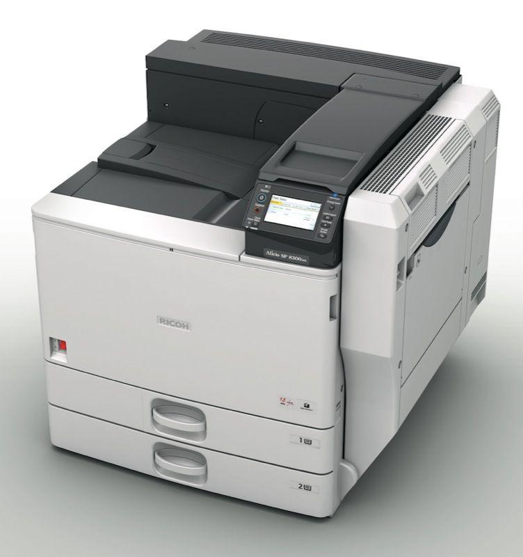 Ricoh Aficio SP C830DN Printer PCL Treiber Windows XP