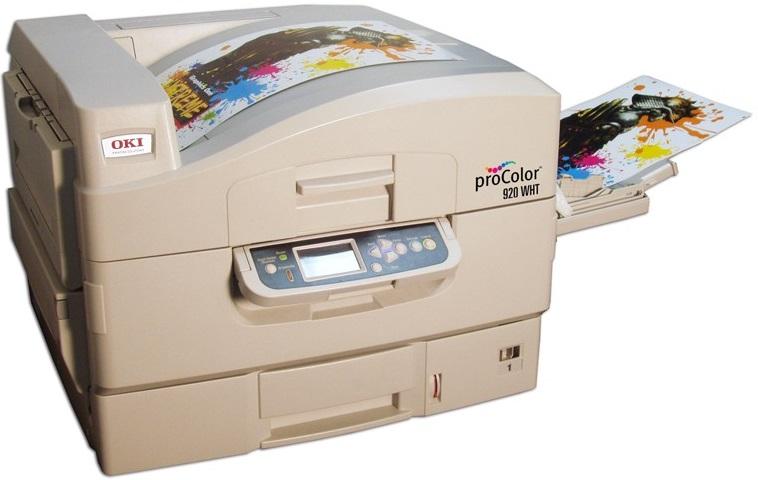Okidata Pro 920WT Textile Transfer Printer