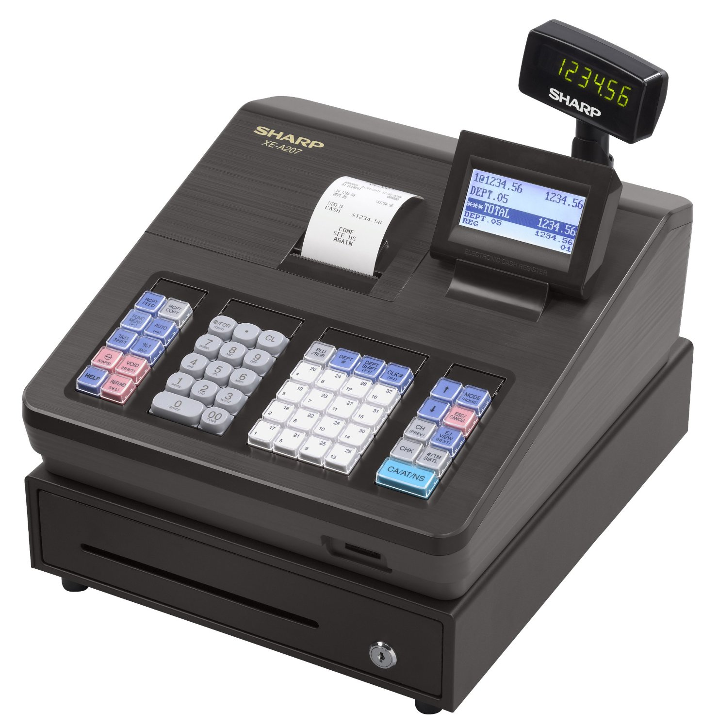 Sharp XE-A207 Cash Register Reconditioned
