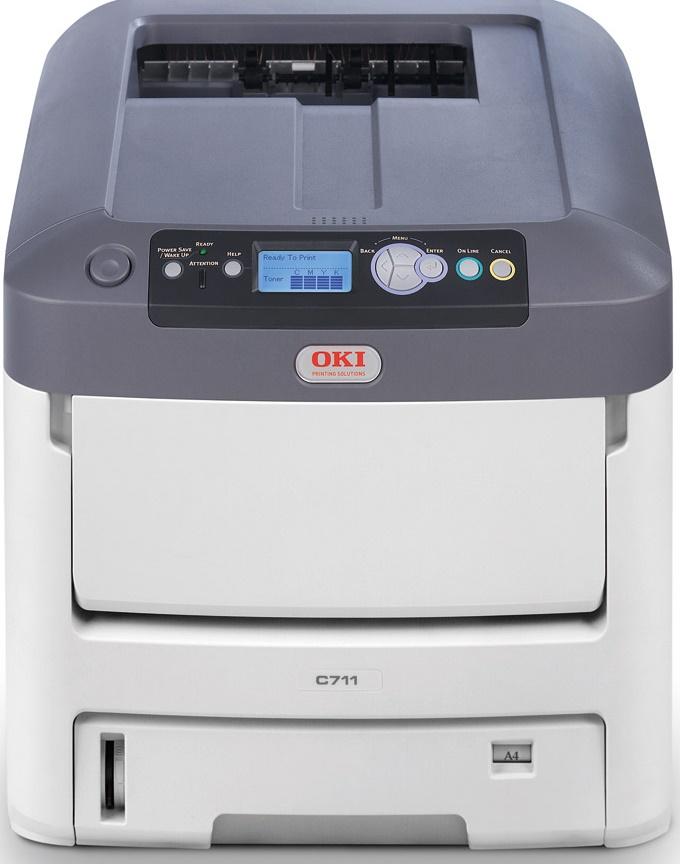 Okidata C711N Color Laser Printer