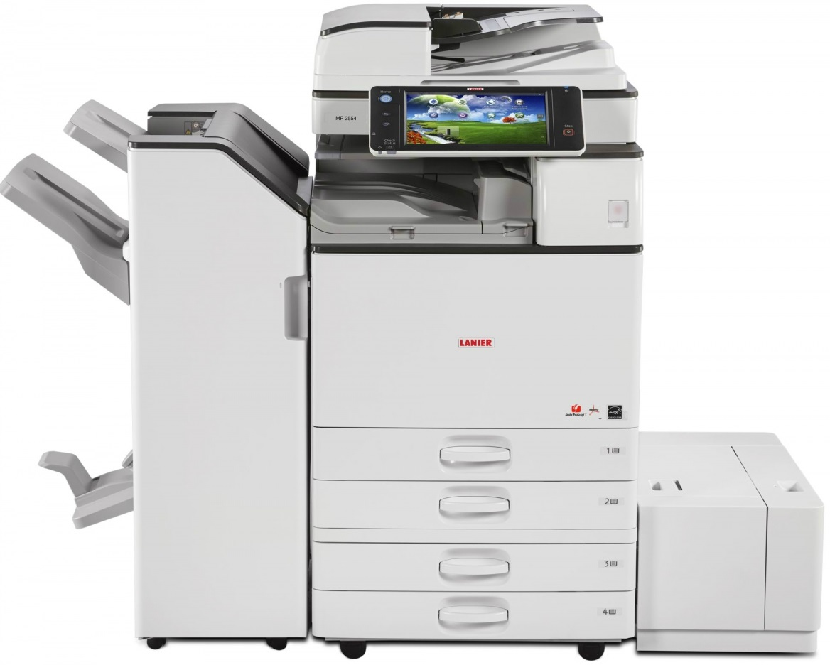 Ricoh MP 2554 Printer PCL 5e Drivers for Windows 7