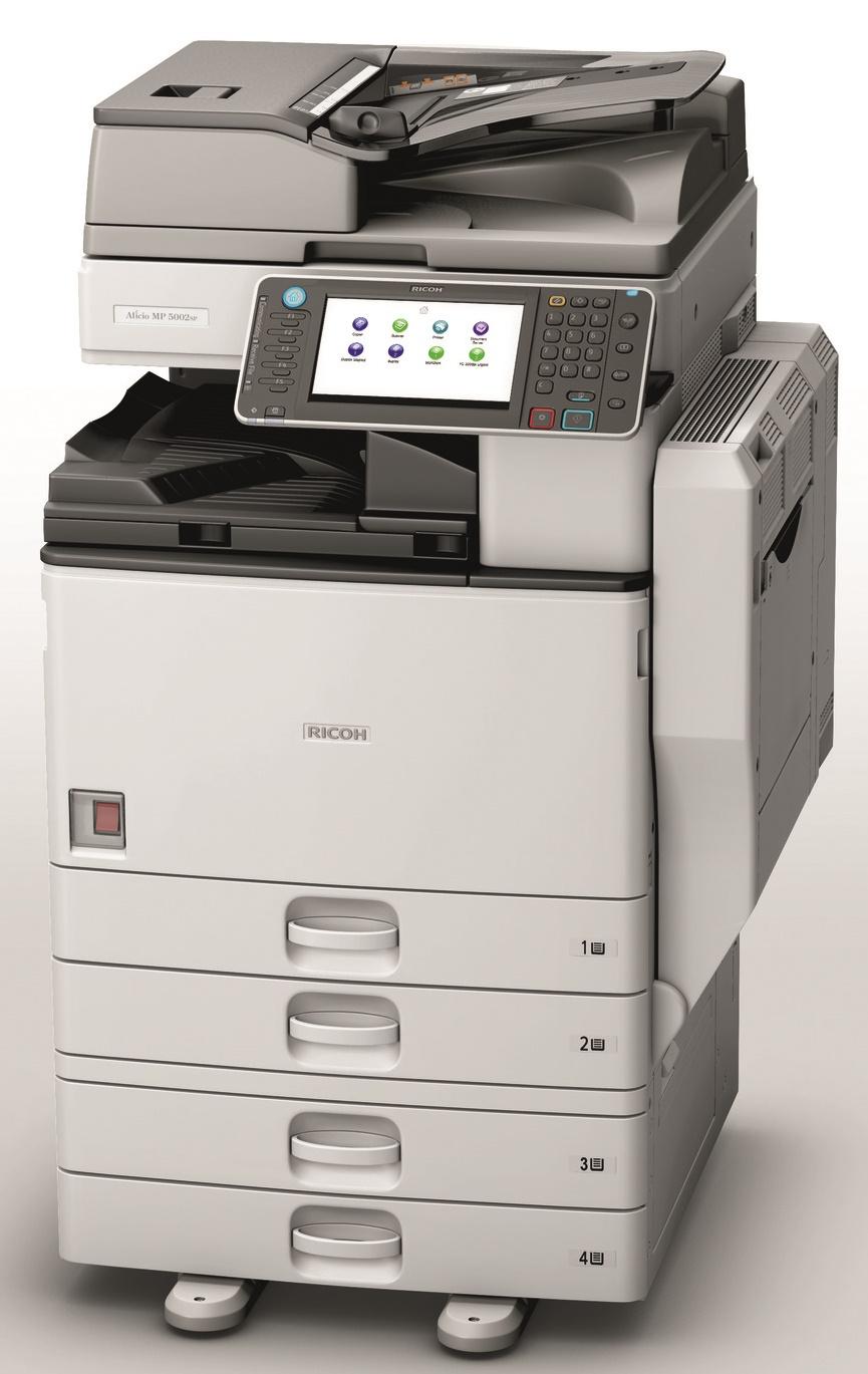 Ricoh Aficio MP 4002SP Multifunction Copier - CopyFaxes