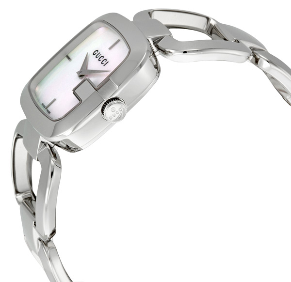 bbb3d6655d4 Gucci YA125404 G-Gucci Mother of Pearl Dial Women s Watch. Model No.