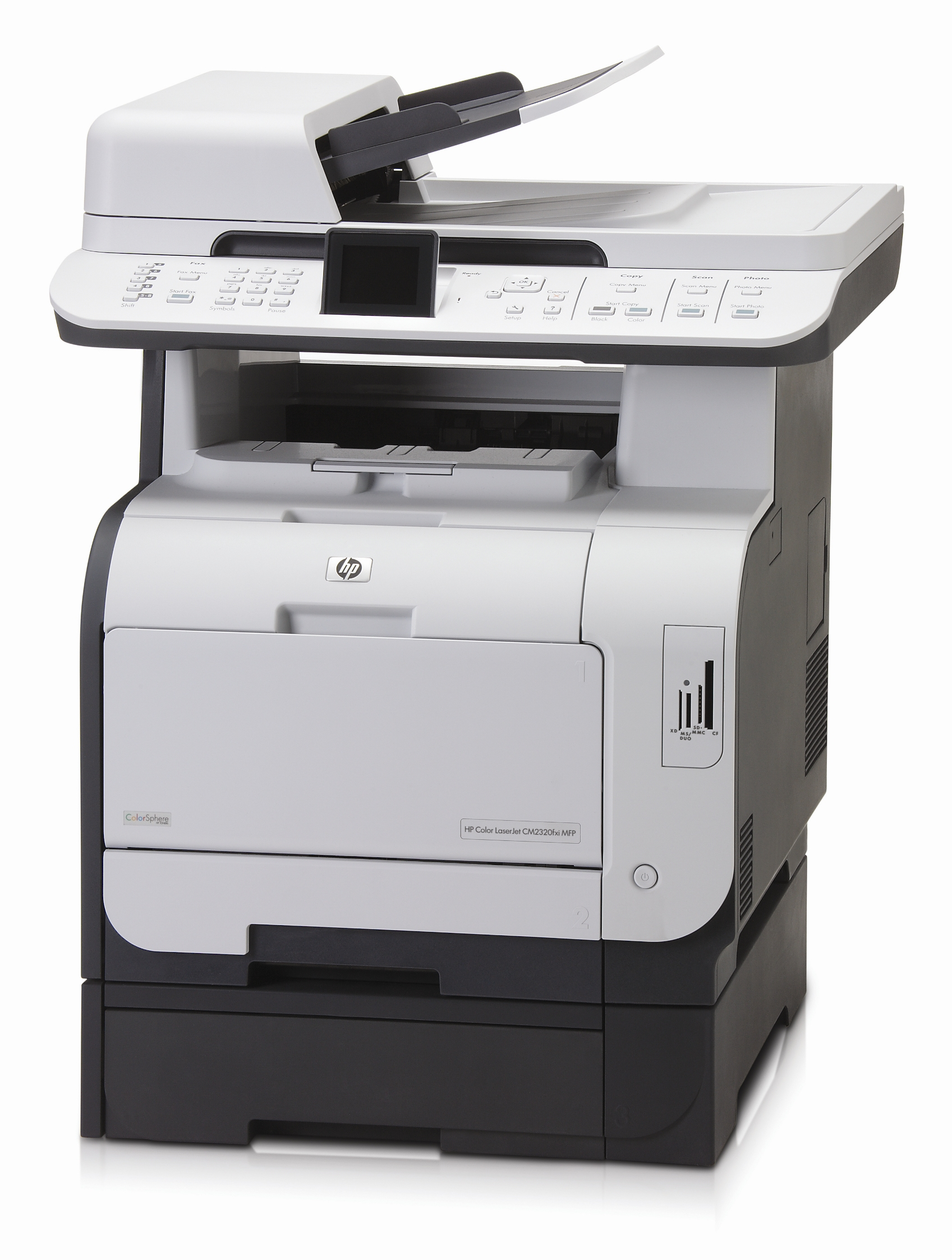 Hp Cm2320fxi Mfp Laserjet Printer Reconditioned Copyfaxes