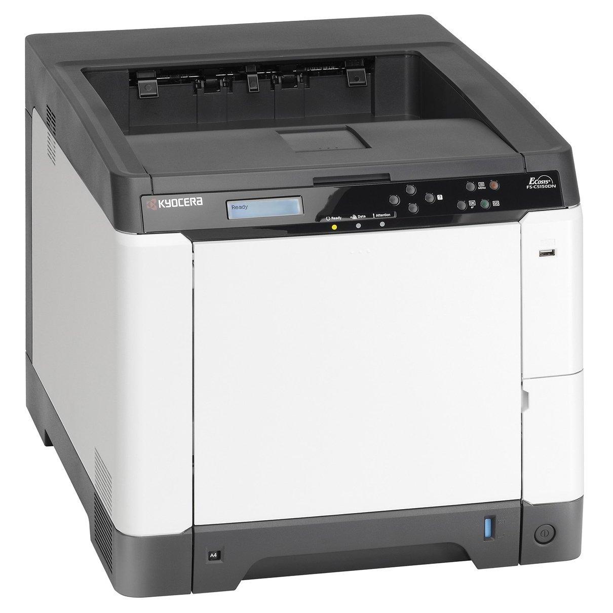 kyocera fs c5150dn color network laser printer. Black Bedroom Furniture Sets. Home Design Ideas