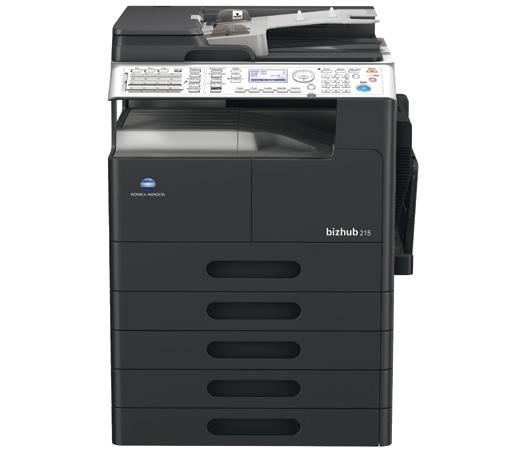 Konica Minolta Bizhub 215 Printer Fax Driver for Windows Mac