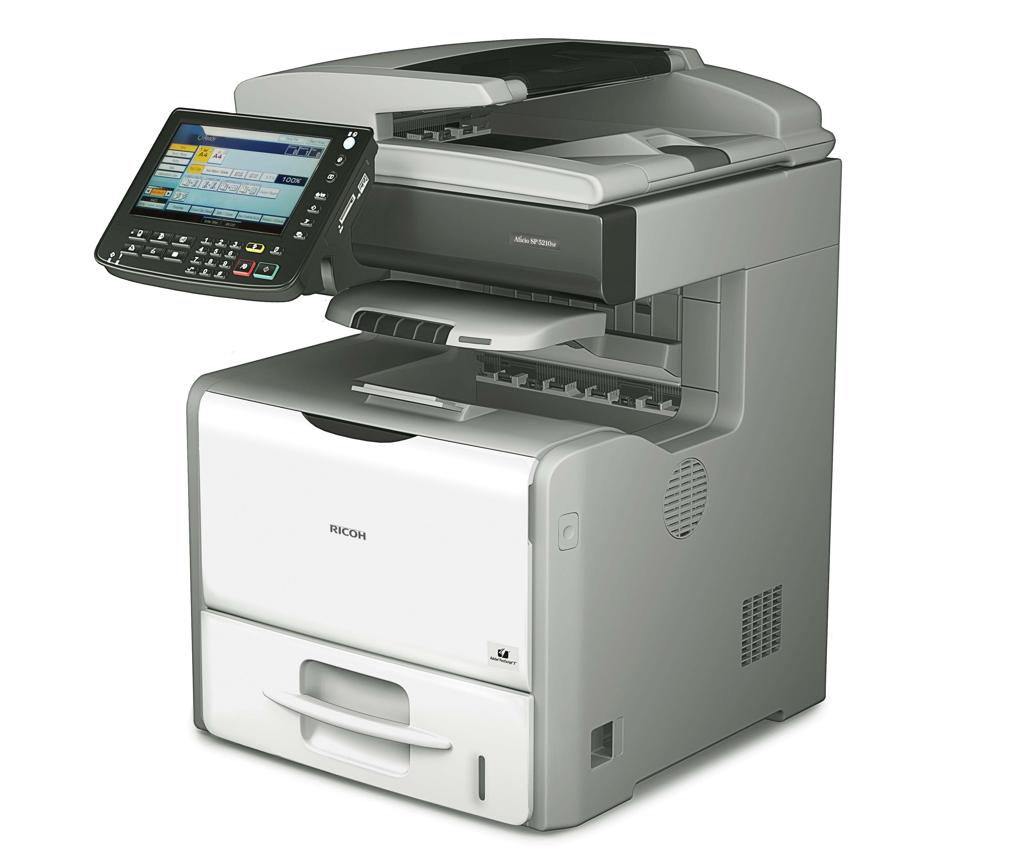 Multifuncional fax escaner fotocopiadora 76