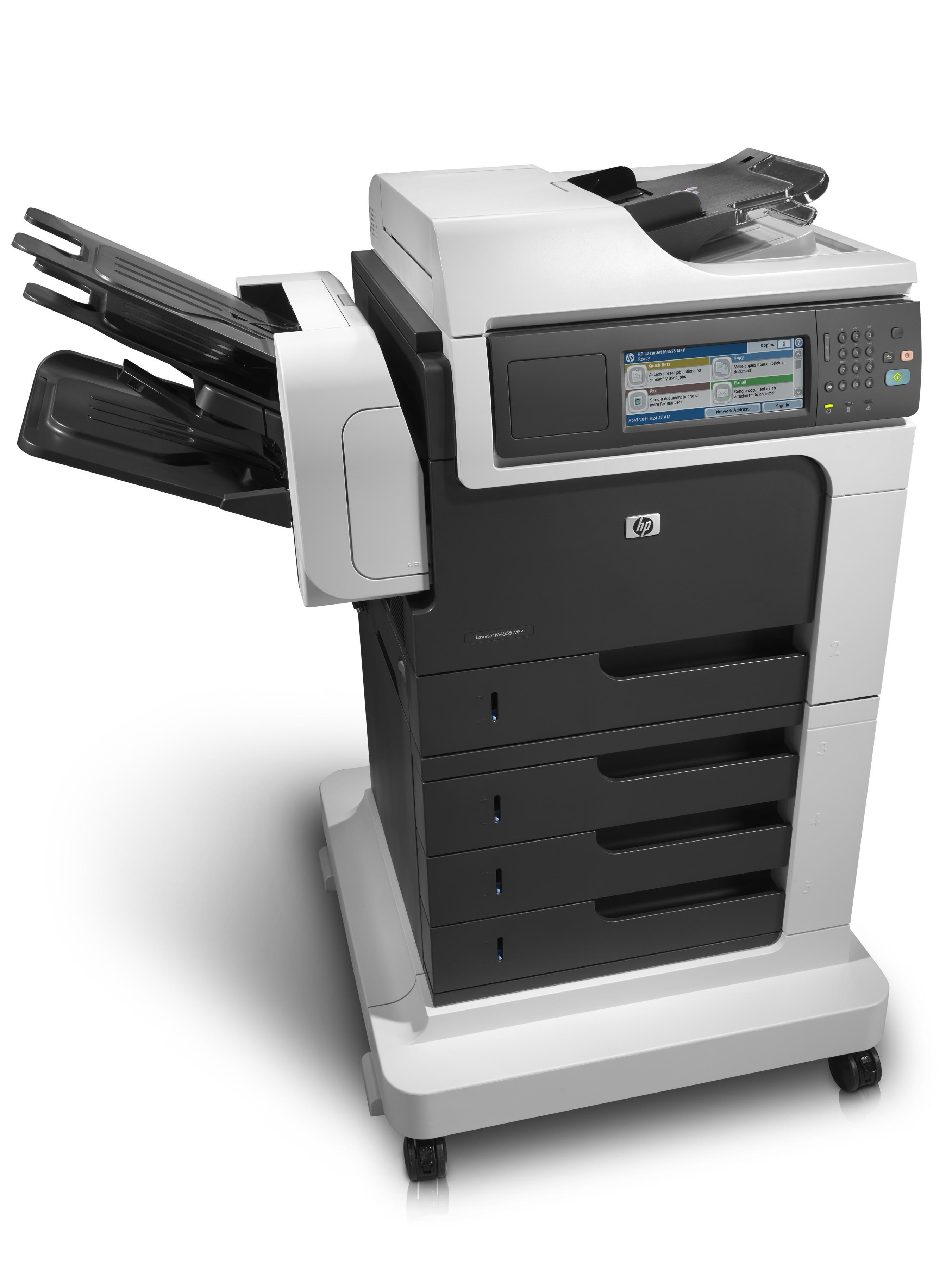 Hp M4555fskm Laserjet Enterprise Mfp Printer Reconditioned