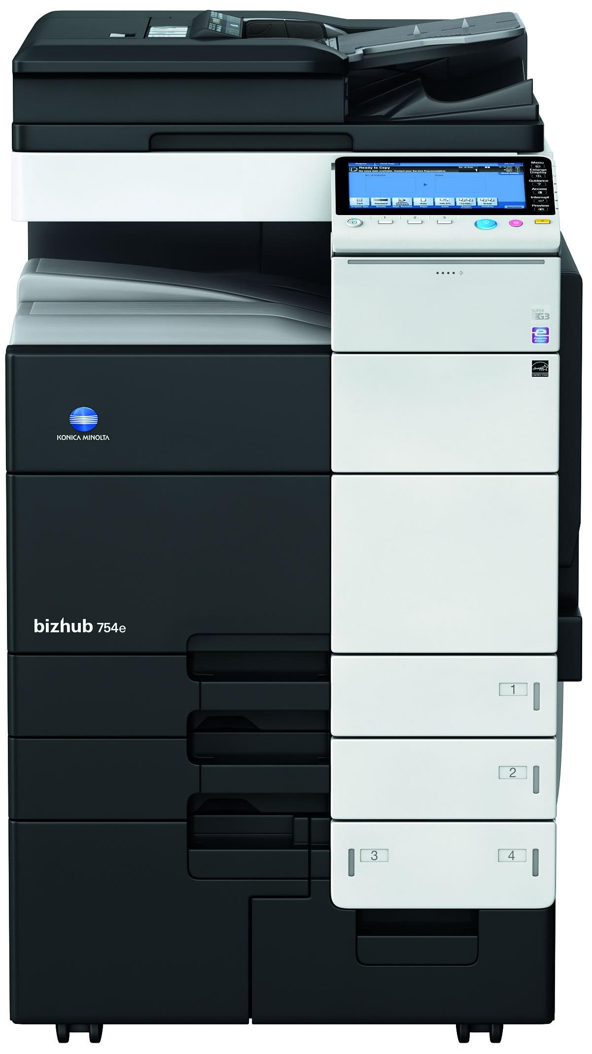 Konica Minolta Bizhub 754e Copier Printer Scanner
