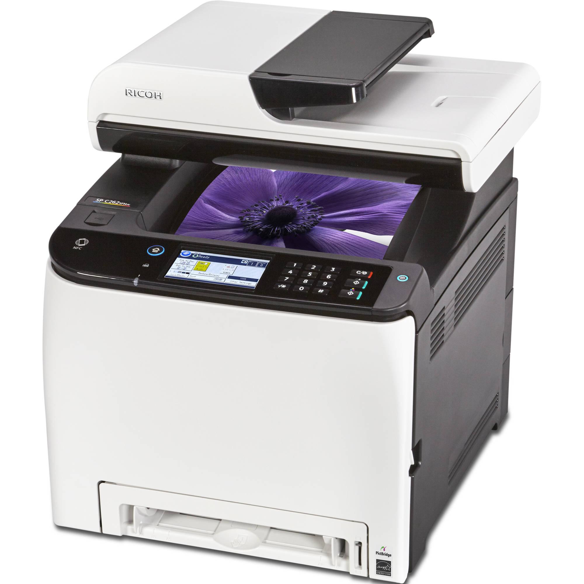 Ricoh Aficio SP C262SFNw Multifunction Color Laser Printer