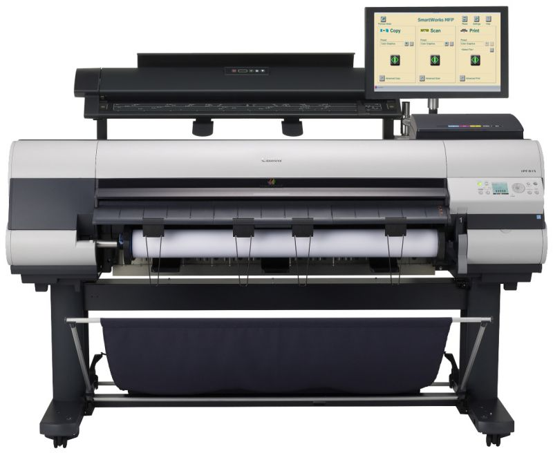 Canon imagePROGRAF iPF815 MFP Printer Update